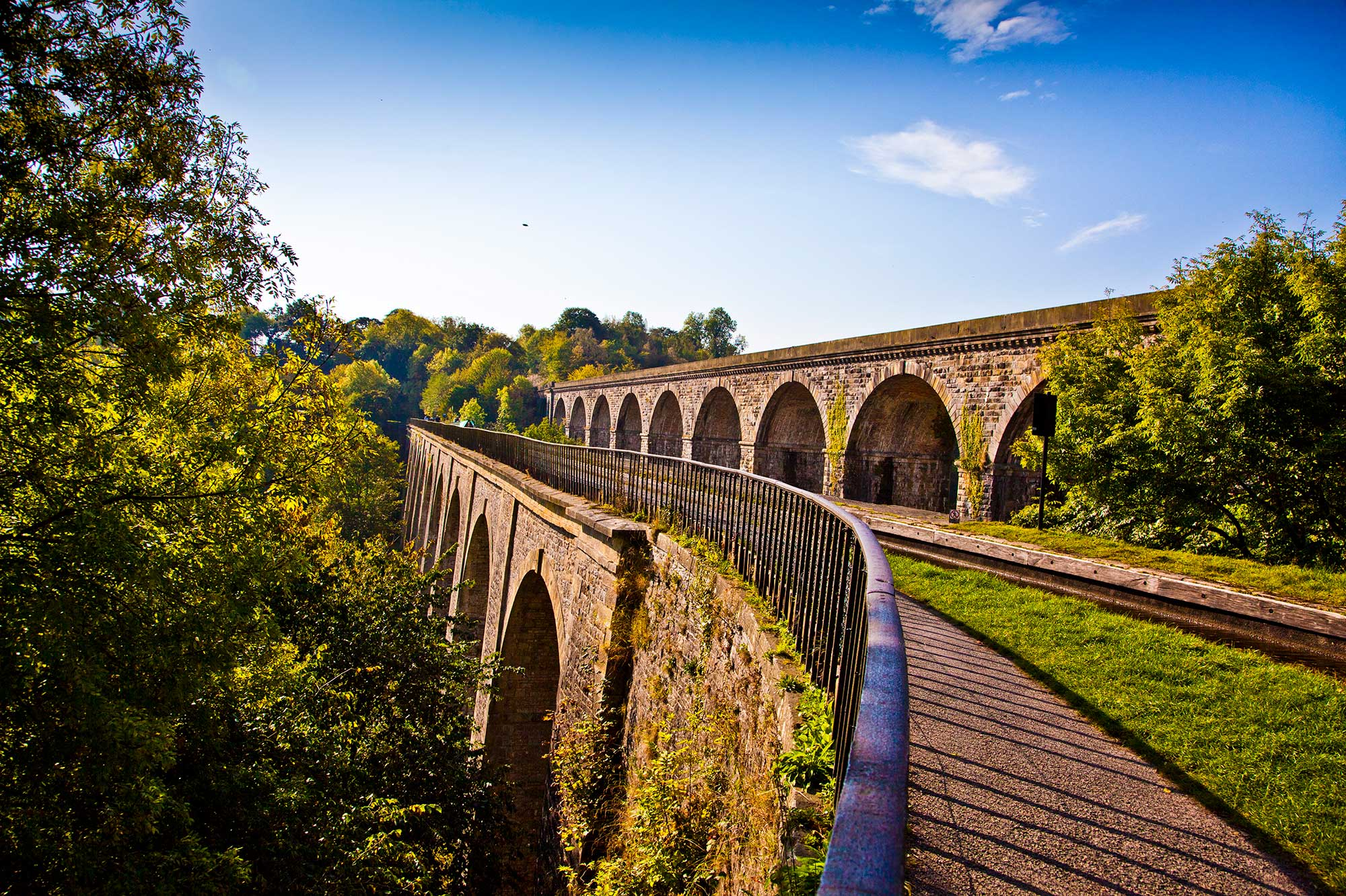 *chirk aqueduct and chirk viaduct