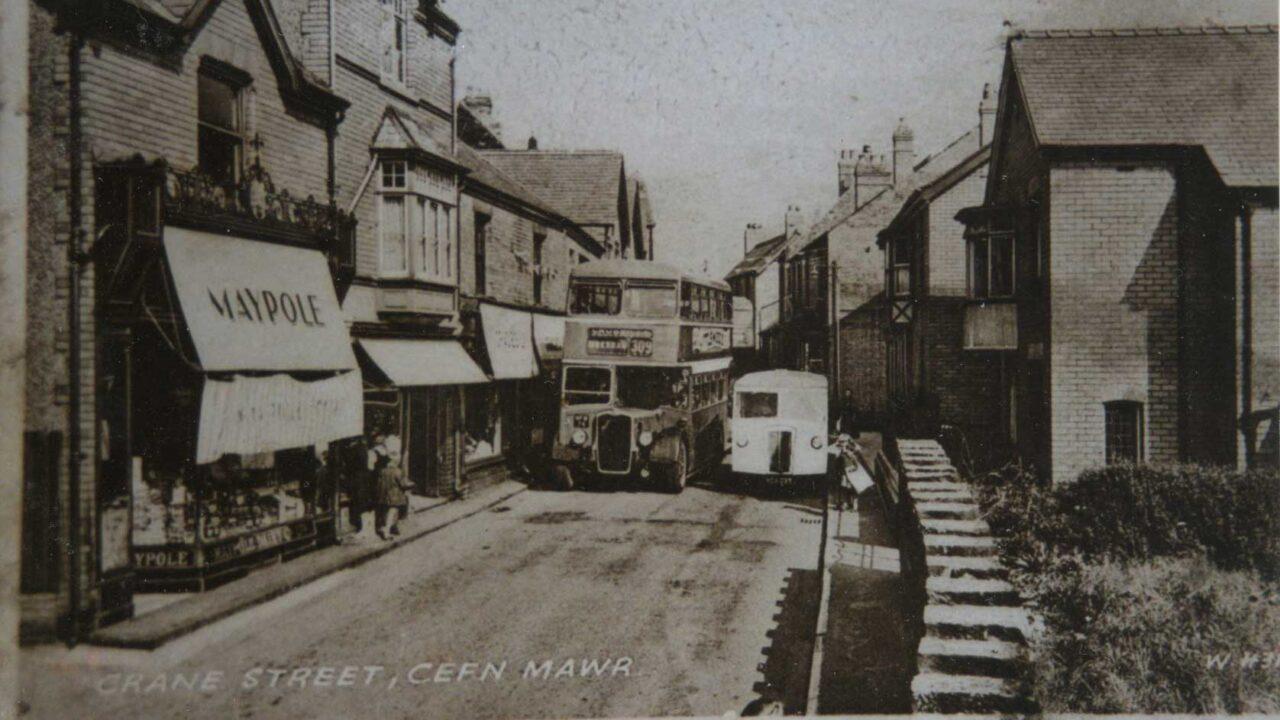 *historical photo of cefn mawr