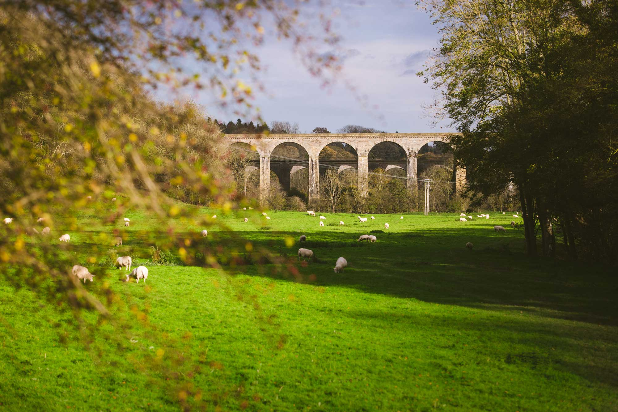 *view of chirk viaduct