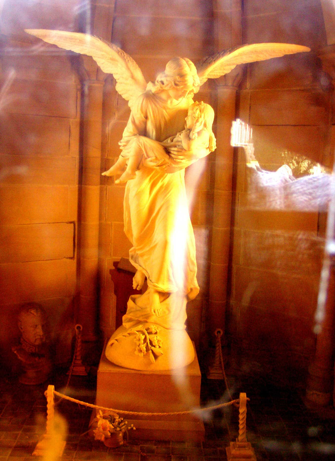 *angel at st mary's, chirk