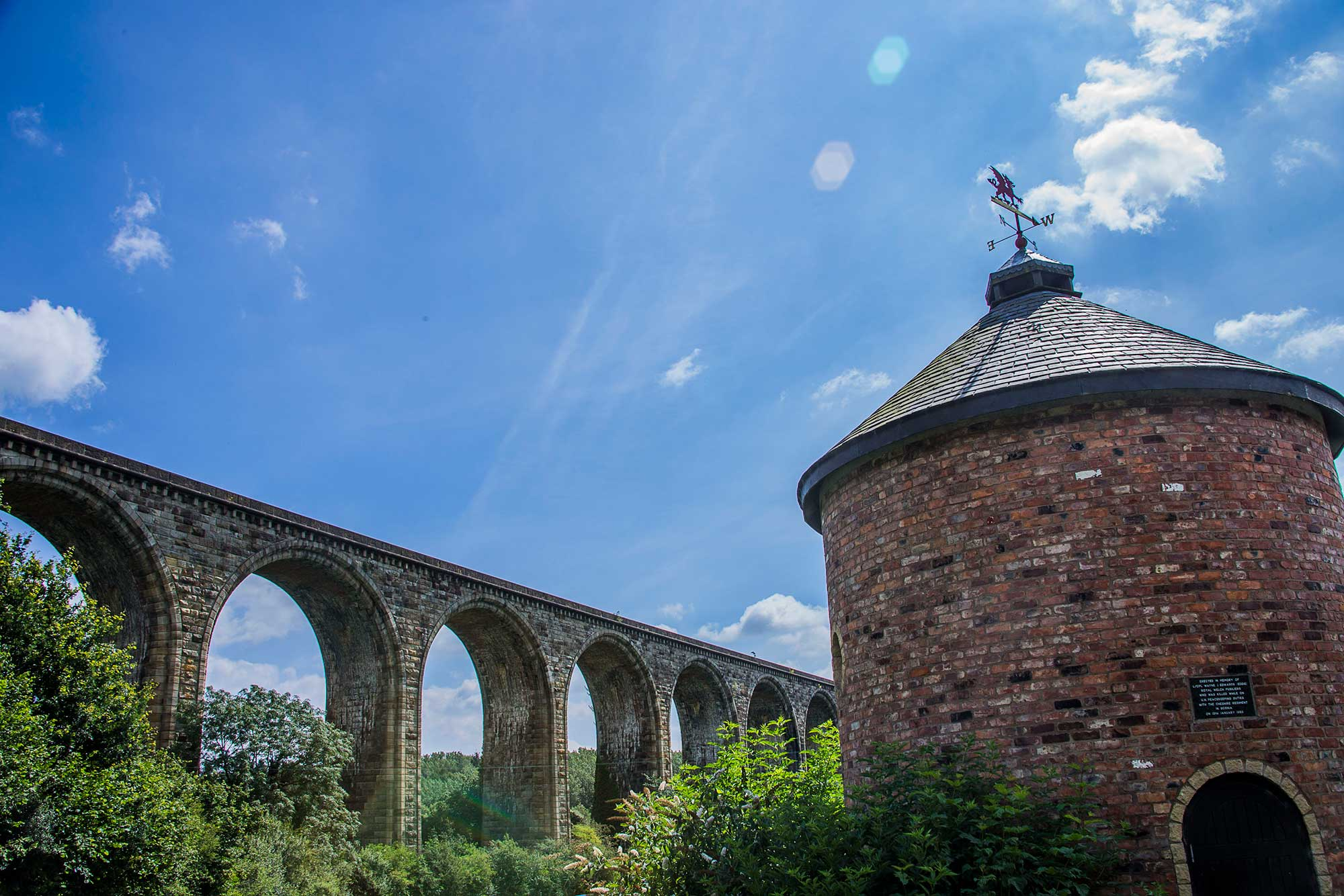 *Cefn Viaduct and roundhouse