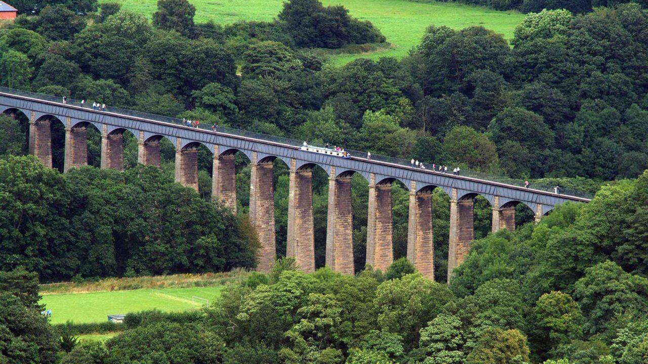 *view of pontcysyllte aqueduct