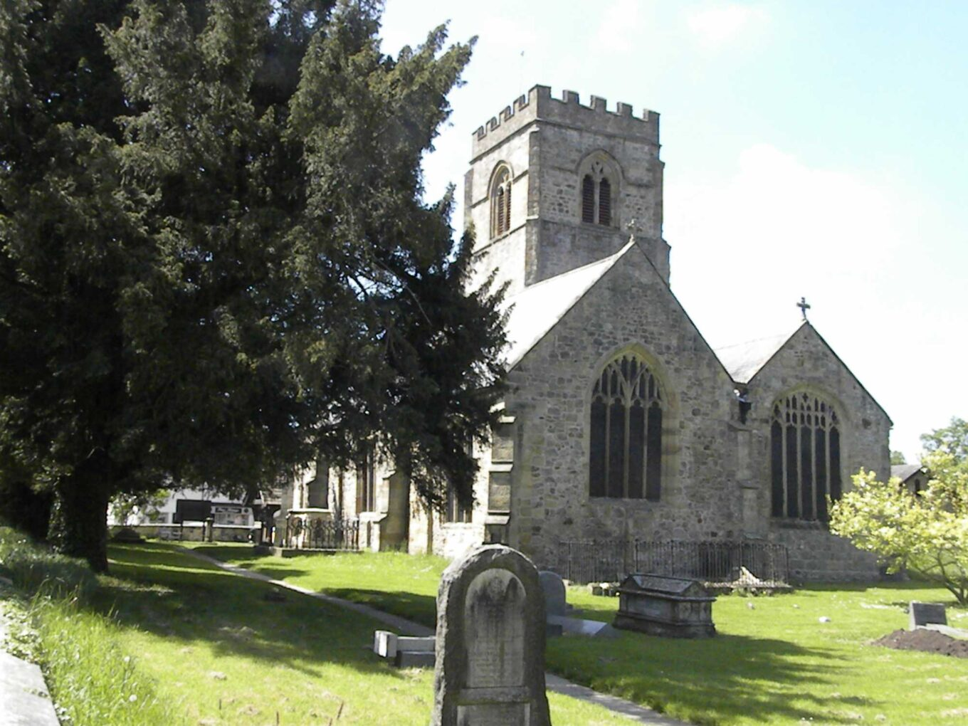 *St Mary's church in Chirk