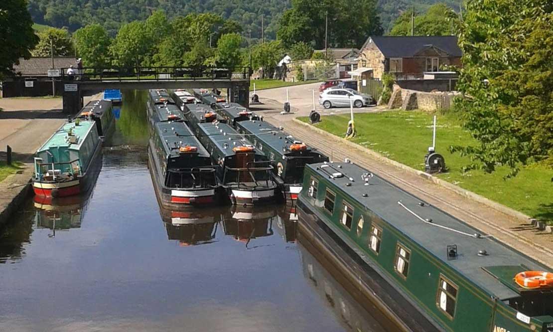 *trevor basin llangollen canal