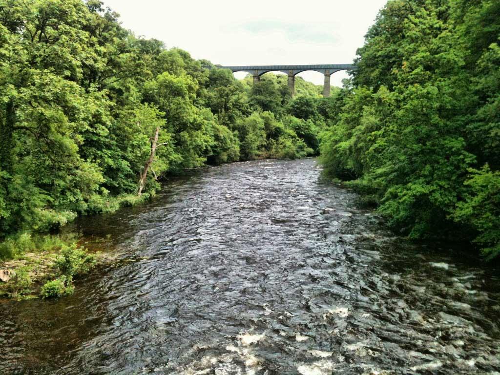 *River Dee and Pontcysyllte Aqueduct
