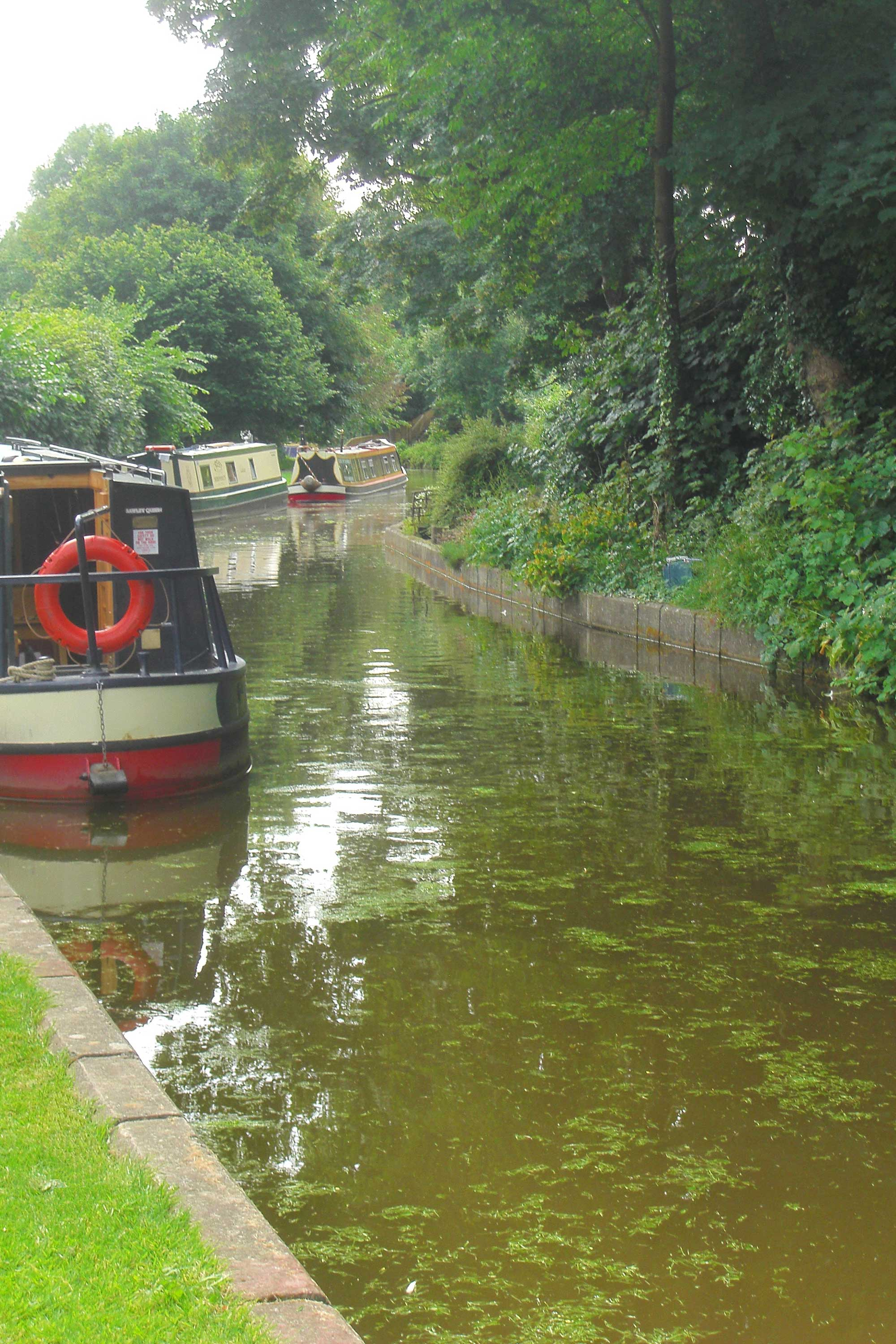 *Chirk Bank on the Llangollen Canal