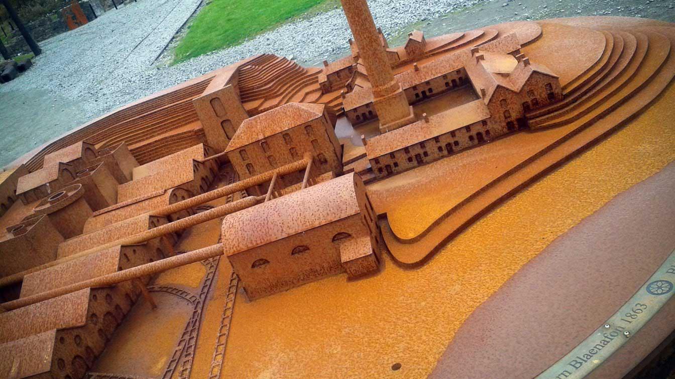 External ironworks model