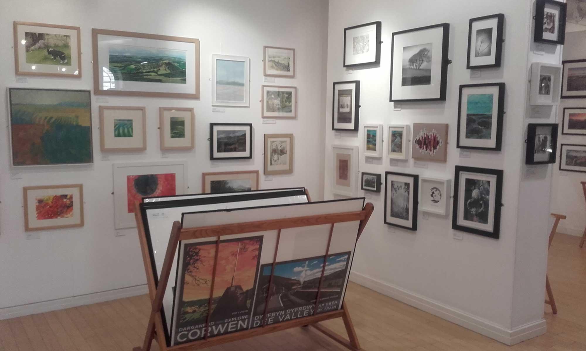 *Art at Llangollen Tourist Information Centre