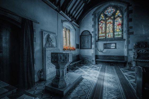 *llantysilio church interior