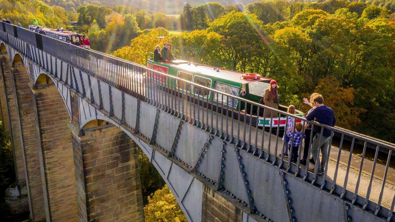 Pontcysyllte Aqueduct and the North Wales Way
