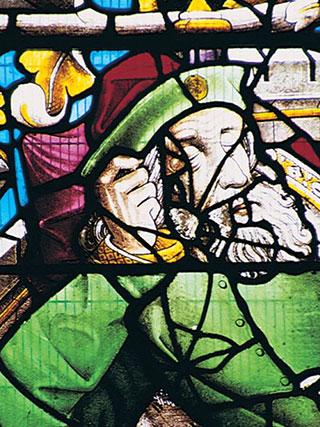 8jesse window at llantysilio church