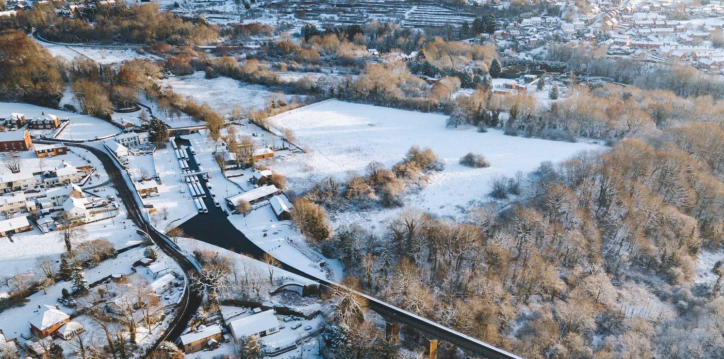 *trevor basin in winter