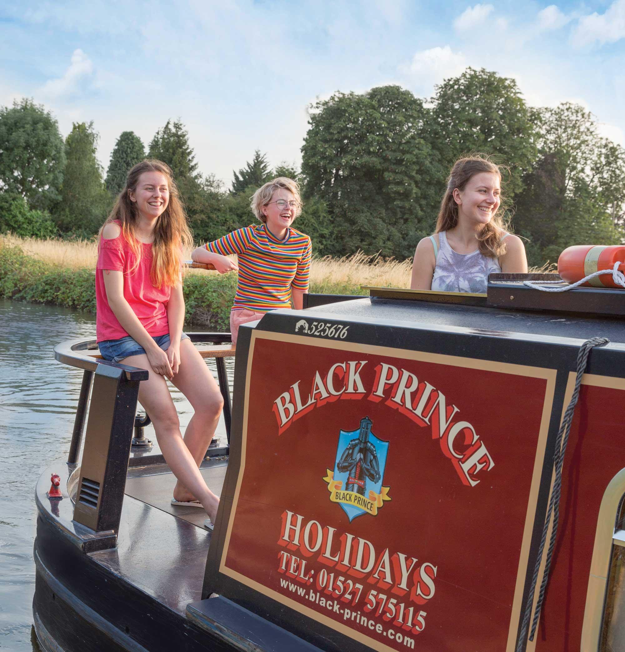 Black Prince canal boat hirePontcysyllte