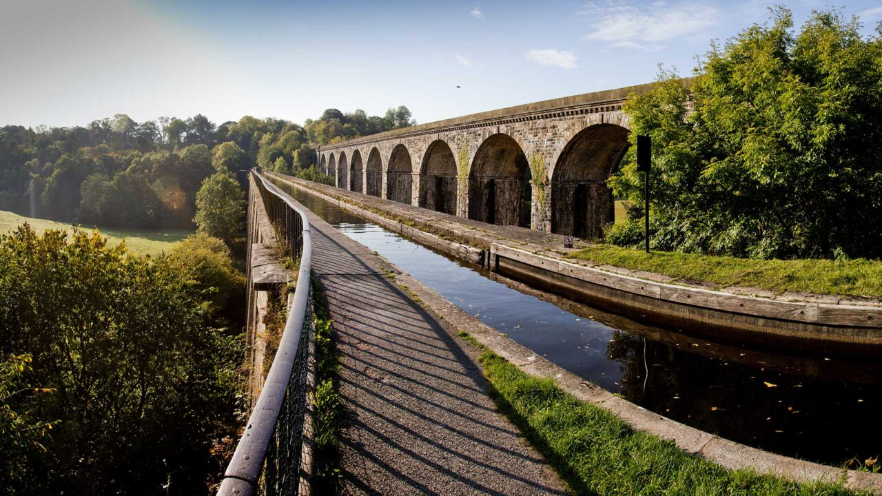 *chirk aqueduct and viaduct