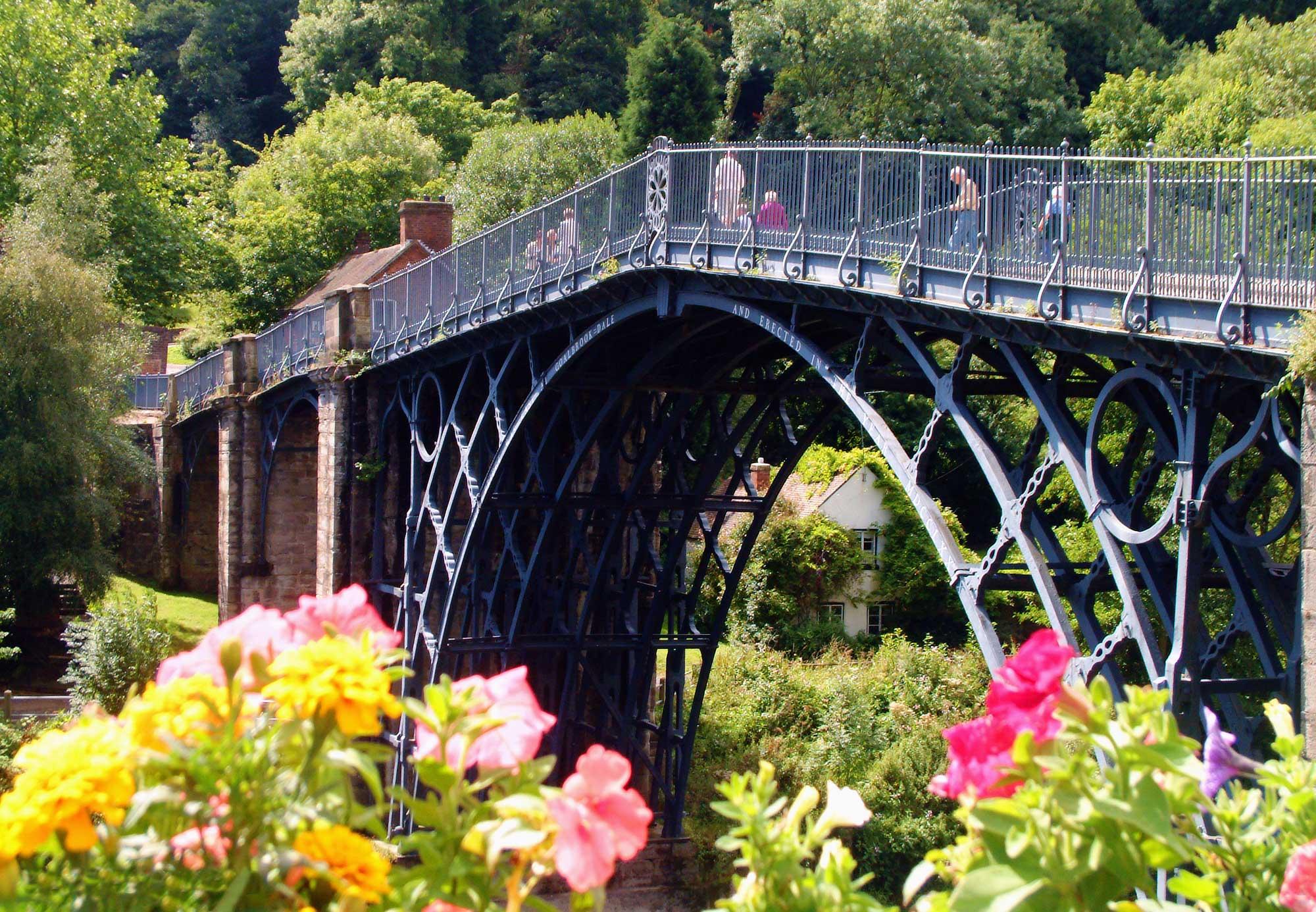 *ironbridge in summer