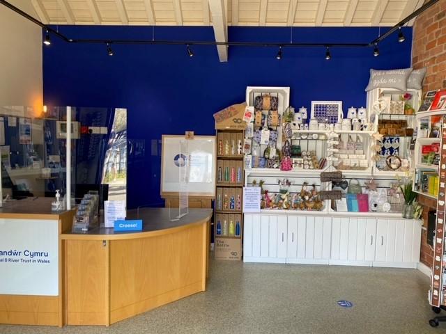 Trevor Basin Visitor Centre shop