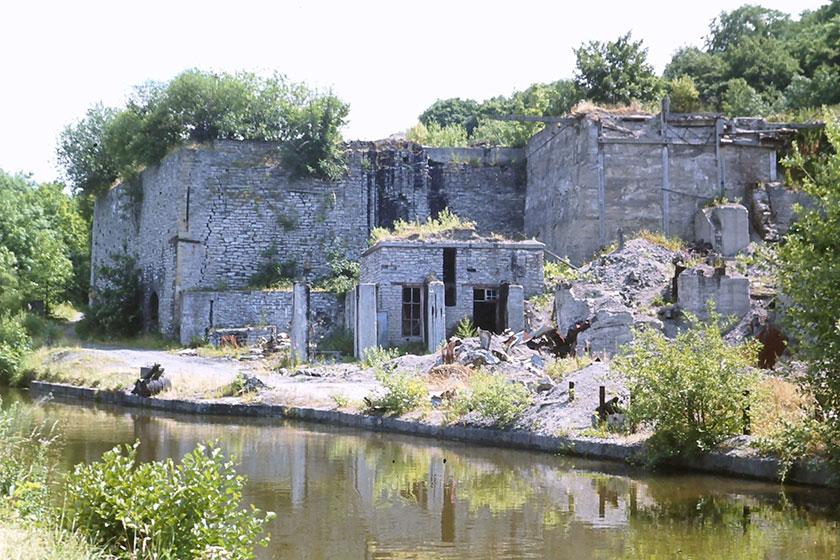 1969 llun o safle odyn 1969 photo of kiln site