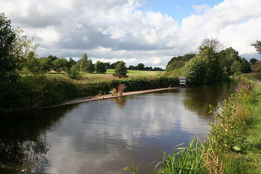 Gorlif Afon Bradle Afon Bradley overflow