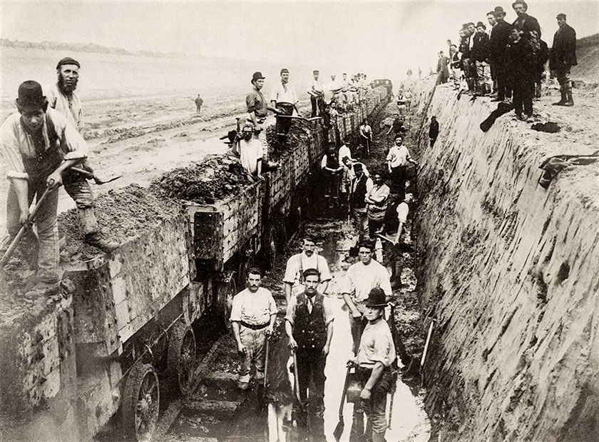 Navvies – who were they