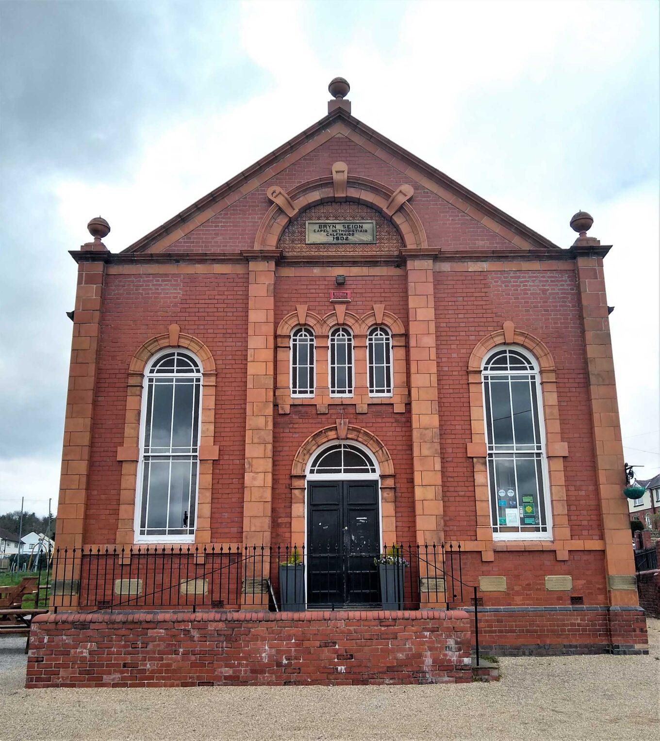 Former chapel near Trevor basin