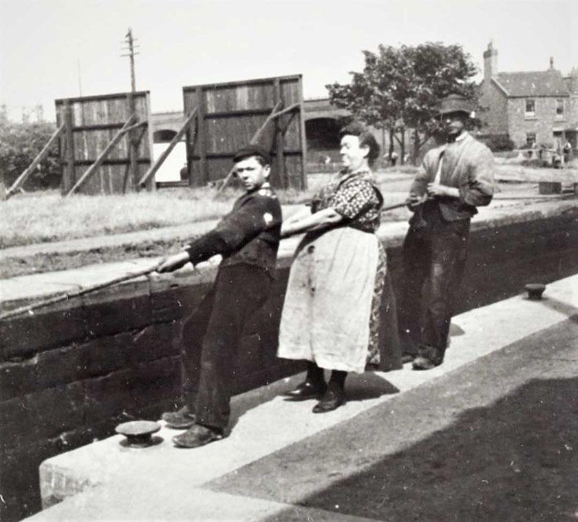 Runcorn Locks 1930s