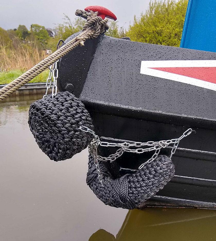 Modern rope fenders