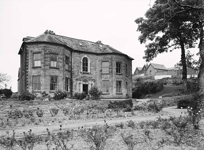 Picture of Plas Kynaston, home of Exuperius Pickering