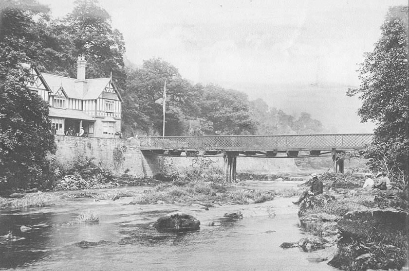 The second chain bridge, Llangollen