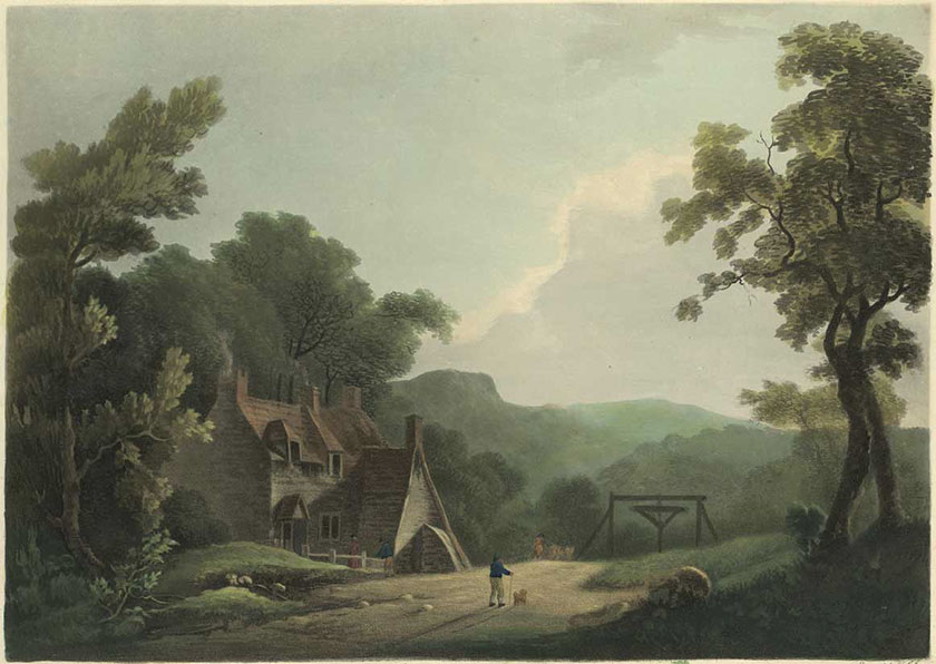 Early pit at Acrefair
