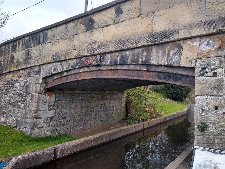 Iron Bridge Llangollen Canal