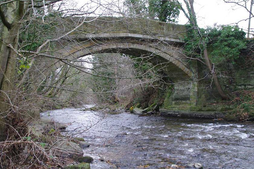 Pont y Blew bridge