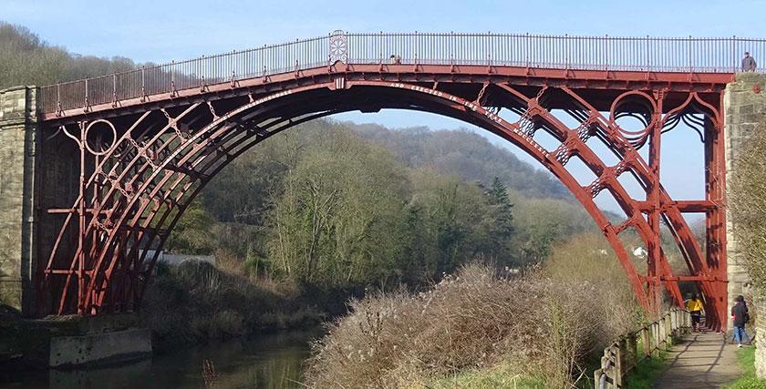 Pont haearn Ironbridge