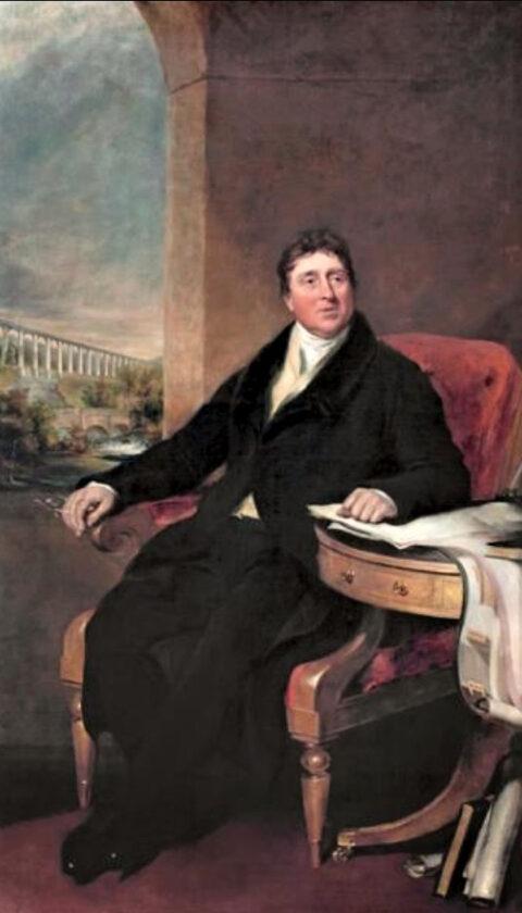 Llun Telfod – Lane Thomas Telford - Lane portrait