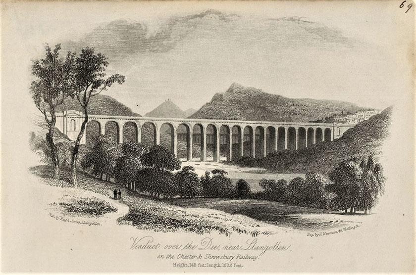 Traphont rheilffordd Railway viaduct