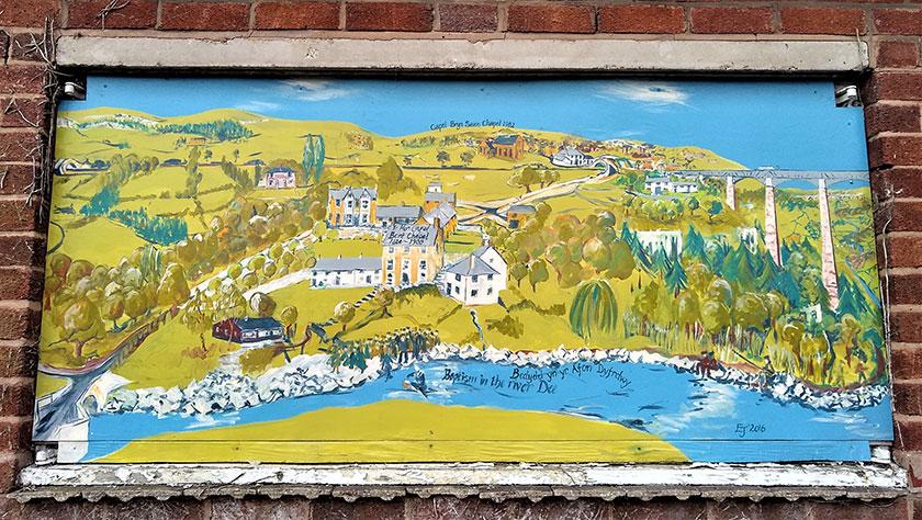 Paentiadau cymunedol Community paintings