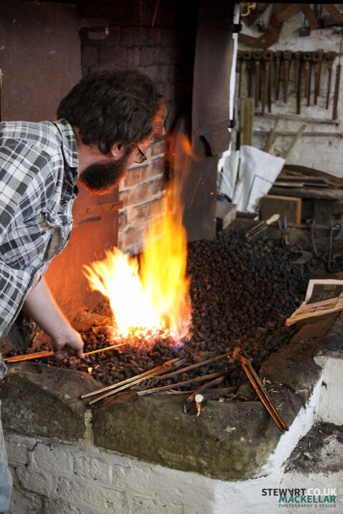 Gof Ellesmere blacksmith