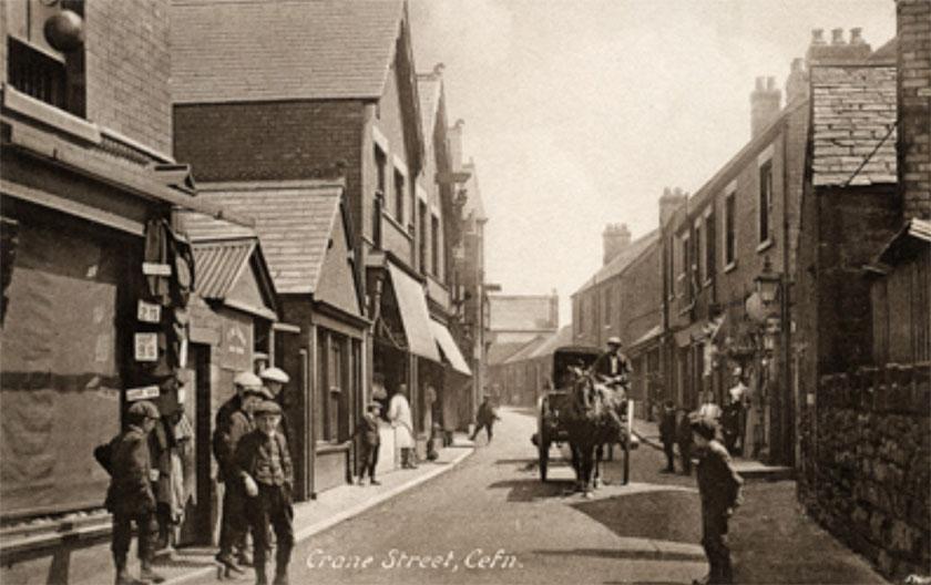 Cefn Mawr street