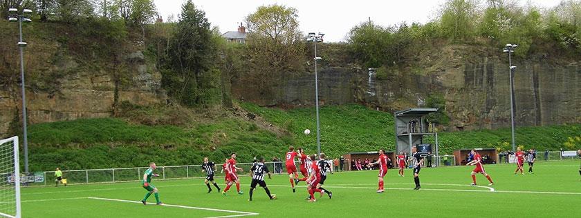 The Rock football ground