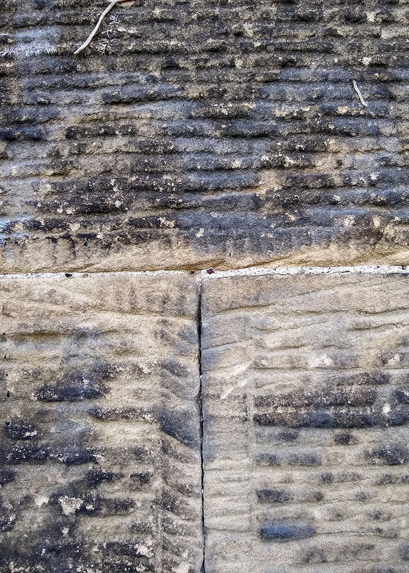 Detail of masonry at Pontcysyllte Aqueduct