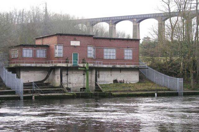 Pumping Station at Frontcysyllte