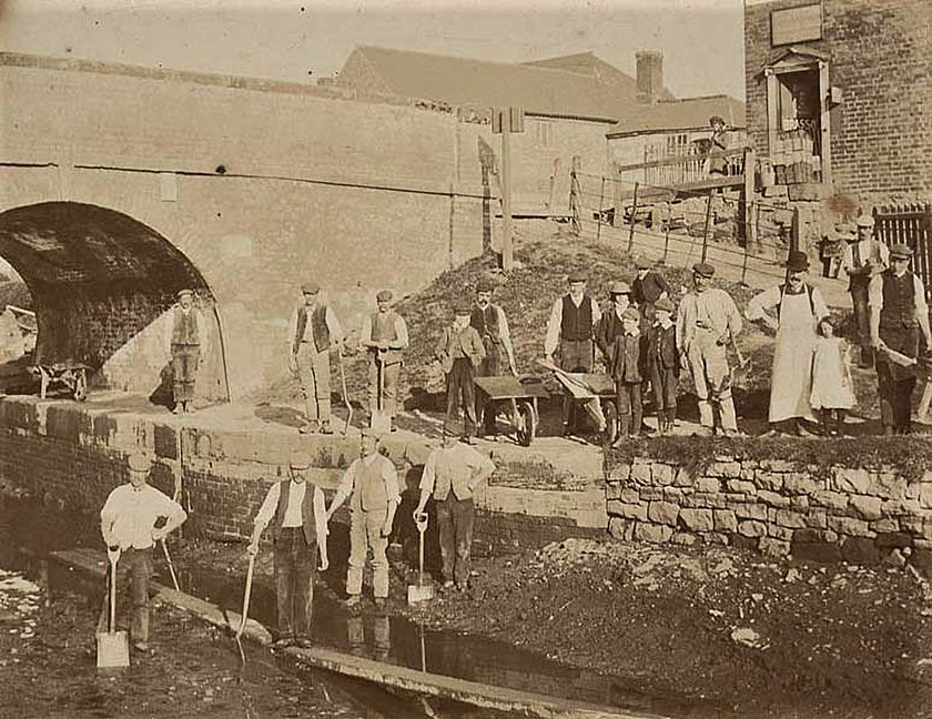 How much work navvies had to do
