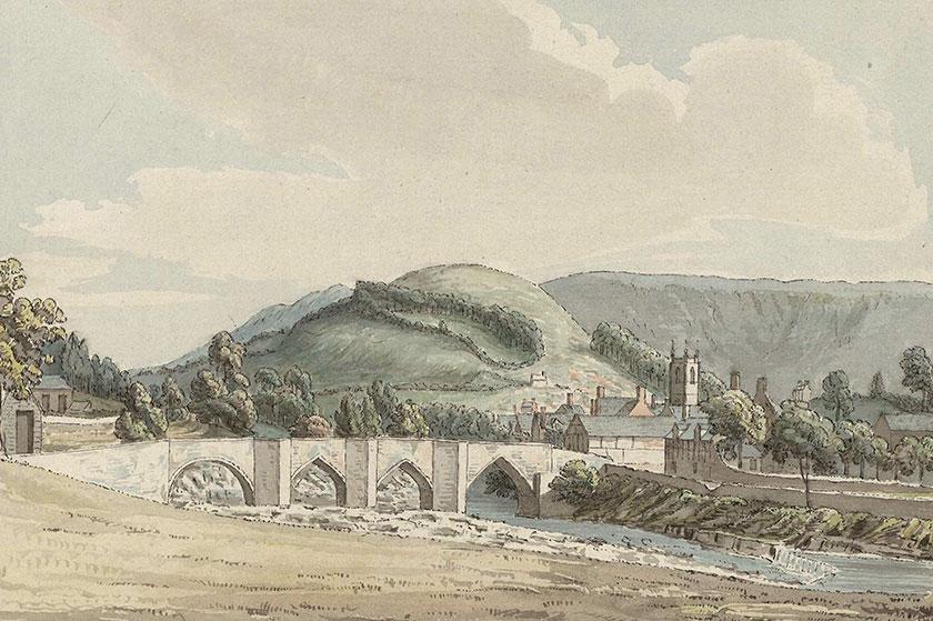 Pont Llangollen Bridge