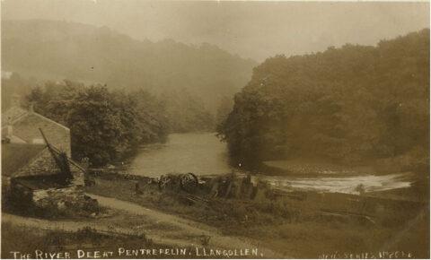 Afon a gwaith River and works